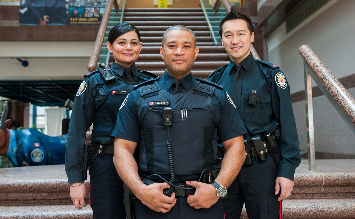 канадская полиция