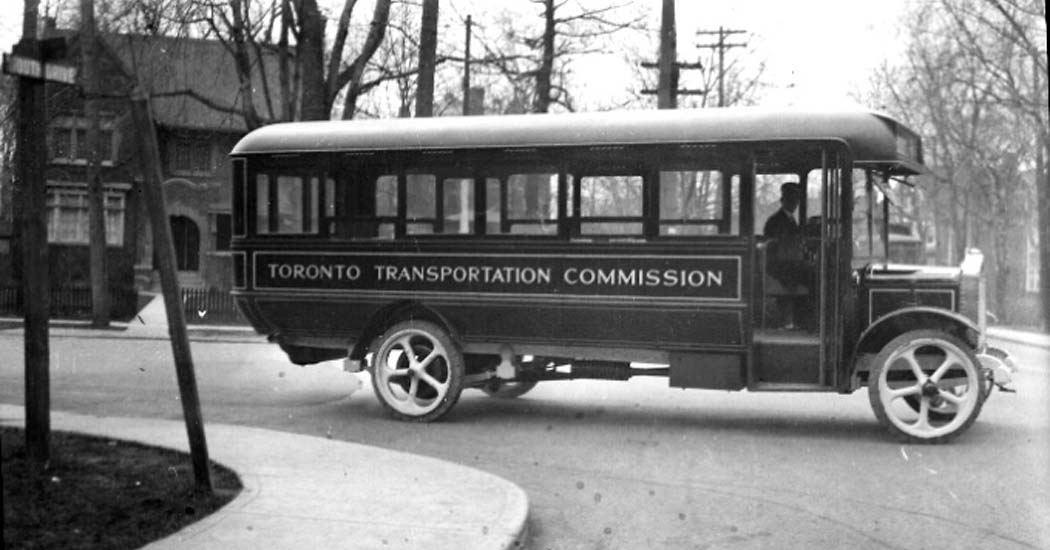общественный транспорт Торонто
